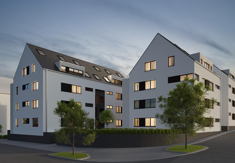 Konzept für ein Bauprojekt in Esslingen